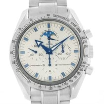 Omega Speedmaster Moonphase Blue Broad Arrow Hands Watch...