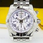 Breitling Chronomat 44 B01 White Dial SS / SS
