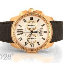Cartier NEU -40% Cartier Calibre Chronograph W7100044 Rotgold...