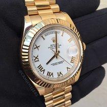 Rolex Day-Date II Gold President White Roman