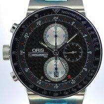 Oris Mans Automatic Wristwatch Chronograph Williams F1 Team Lefty