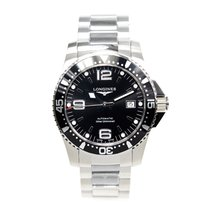 Longines Conquest Stainless Steel Black Automatic L3.642.4.56.6