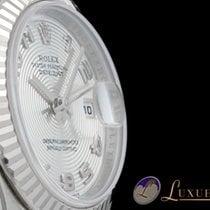 Rolex Lady Datejust Weissgoldlünette Silber ZB Concentric...