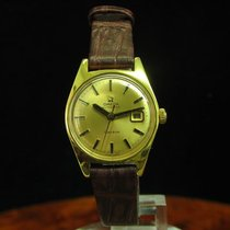 Omega Geneve Gold Mantel / Edelstahl Automatic Damenuhr Ref...