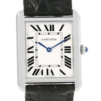 Cartier Tank Solo Large Stainless Steel Unisex Watch W1018355