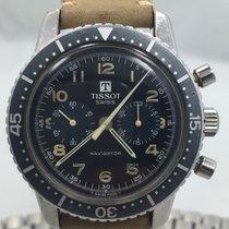 Tissot Rare Navigator Chronograph ref. 817 Lemuania 872 &...