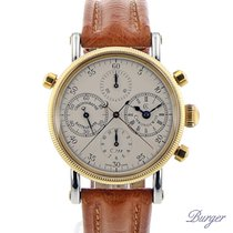 Chronoswiss Chronograph Rattrapante Gold/Steel