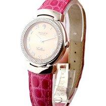 Rolex Unworn 6671/9 Cellisima Quartz - Rose Roman Dial 6671/9...