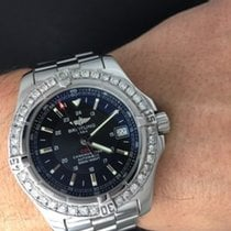 Breitling Colt Automatic Stainless Steel Watch A17380 &bez...