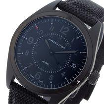 Hamilton カーキ フィールド KHAKI クオーツ メンズ 腕時計 H68401735 ブラック