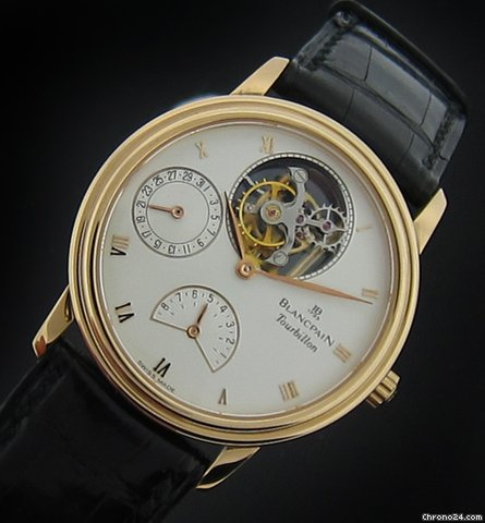 Blancpain Rose Gold Tourbillon Calendar