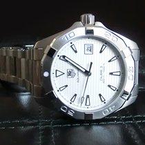 TAG Heuer Aquaracer 300M Calibre 5 White dial