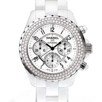 Chanel J12  Chronograph Diamond Bezel