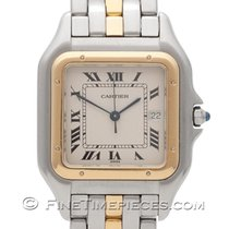 Cartier Panthere GM Quarz Stahl/Gelbgold W25027B8