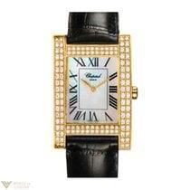 Chopard Your Hour YG Diamonds Leather Ladies Watch