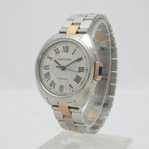 Cartier W2CL0003 Cle De Cartier Rose Gold & Steel 35mm