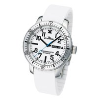 Fortis Herrenuhr B-42 Marinemaster Day Date White 647.11.42 SI 02