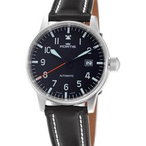 Fortis Aviatis Flieger Classic Watch With Date 200m Water-resi...