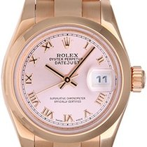 Rolex Ladies President 18K Rose Gold Watch 179165 Pink Dial