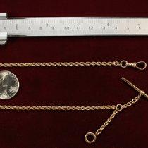 Elgin Gold Pocket Watch Chain