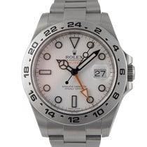 Rolex Explorer II White Dial, Ref: 216570