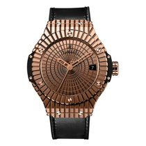 Hublot Big Bang Caviar 41mm Automatic 18K Rose Gold Mens Watch...