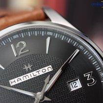 Hamilton Men's Jazzmaster Viewmatic Auto Steel on Leather...