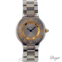 Cartier Must 21 Gold/Steel