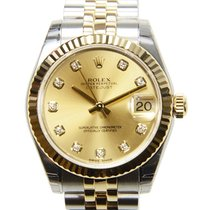 Rolex Lady Datejust Gold And Steel Gold Automatic 178273GCH