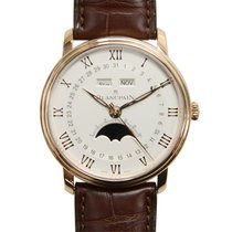 Blancpain Villeret 18k Rose Gold White Automatic 6654-3642-55B