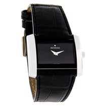 Movado Eliro Majesta Ladies Black Leather Swiss Quartz Watch...