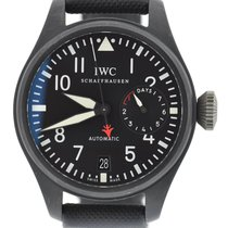 IWC Big Pilot Top Gun 7 Day Black Ceramic
