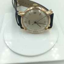 Fortis Vintage Fortis 18k Solid Rose Gold Watch  Fancy Lugs...