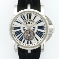Roger Dubuis Excalibur Flying Tourbillon Stainless Steel Watch