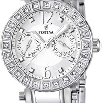 Festina Ceramic Collection F16587/1 Elegante Damenuhr Mit...