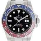 Rolex GMT-Master II Men's 18k White Gold Watch Blue/Red...