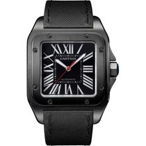 Cartier Santos 100 Large 51x41 Stainless Steel ADLC