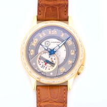 Chopard Yellow Gold L.U.C. Tech Baguette Diamond Watch Ref....