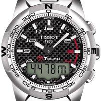 Tissot T-Touch II Titan PVD silber Herrenuhr T047.420.44.207.00