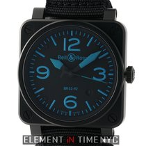 Bell & Ross Aviation PVD Coated Steel Blue Accents