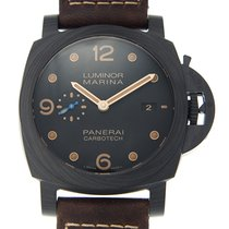 Panerai New  Luminor Carbon Fiber Black Automatic PAM00661