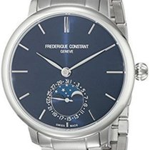 Frederique Constant Slimline Moonphase Automatic Mens Watch...