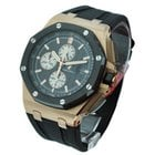 Audemars Piguet Royal Oak Offshore in Rose Gold with Black...