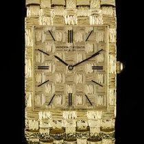 Vacheron Constantin 18k Y/G Champagne Dial Vintage Gents 7186