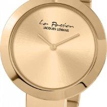 Jacques Lemans La Passion LP-113G Damenarmbanduhr flach &...