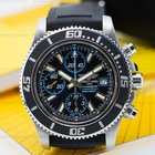 Breitling SuperOcean Chronograph II Blue Accents SS / Rubber