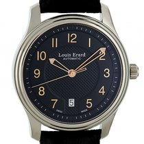 Louis Erard Heritage Stahl Date Automatik 40mm