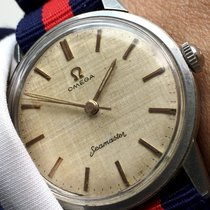 Omega Stunning Omega Seamaster Watch with Linen dial