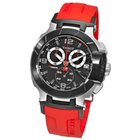 Tissot Men's T0484172705701 T-Race Two-Tone Red Watch