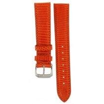 Jaquet-Droz Kaufmann Orange Hand Made Lizard Strap 18mm